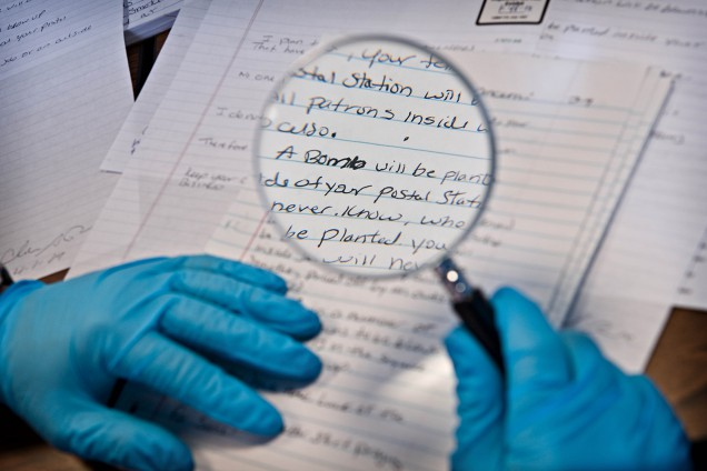 Forensic Careers Questioned Documents Under The Microscope Forensic Science Degree
