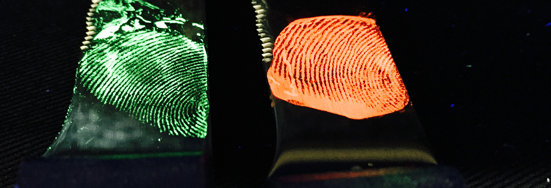 Do you remember smooshing your finger prints all over a paper plate to watch them glow? Researchers have just brought the next ... & Glow-In-The-Dark Fingerprints: Itu0027s Forensic Party Time! » Forensic ...